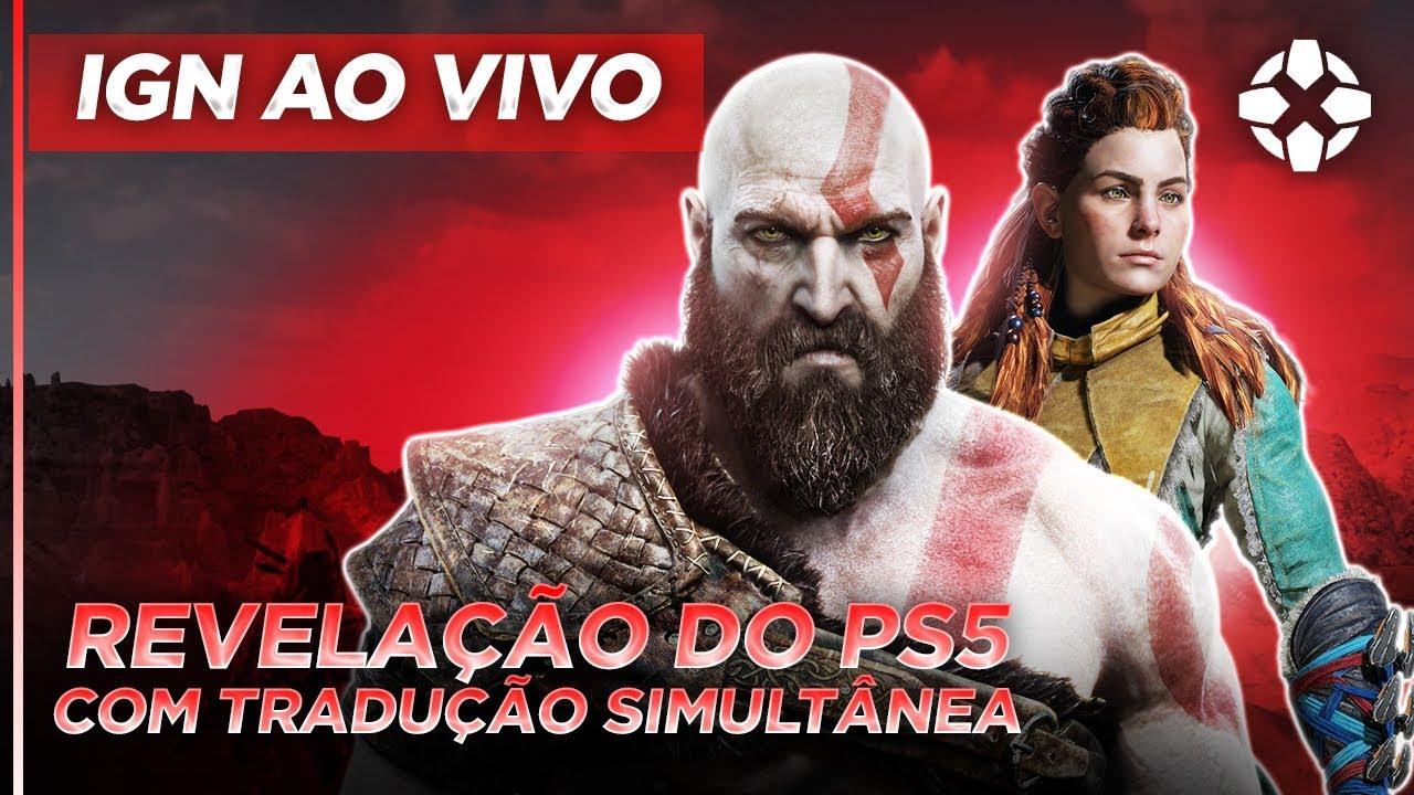 PLAYSTATION 5: CONFERÊNCIA AO VIVO DUBLADA EM PORTUGUÊS | IGN AO VIVO
