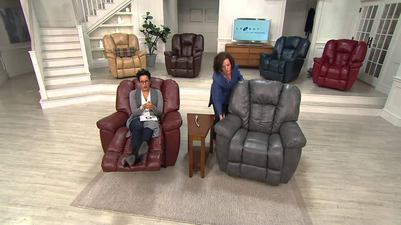 La-Z-Boy Maverick Oversized Rocker Recliner w/ Memory Foam with Rachel Boesing - YouTube & La-Z-Boy Maverick Oversized Rocker Recliner w/ Memory Foam with ... islam-shia.org