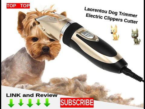 'Laorentou' Electric Dog Trimmer - Rechargeable - full review and link to buy