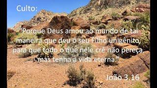 Culto 26 de Abril - João 3.16