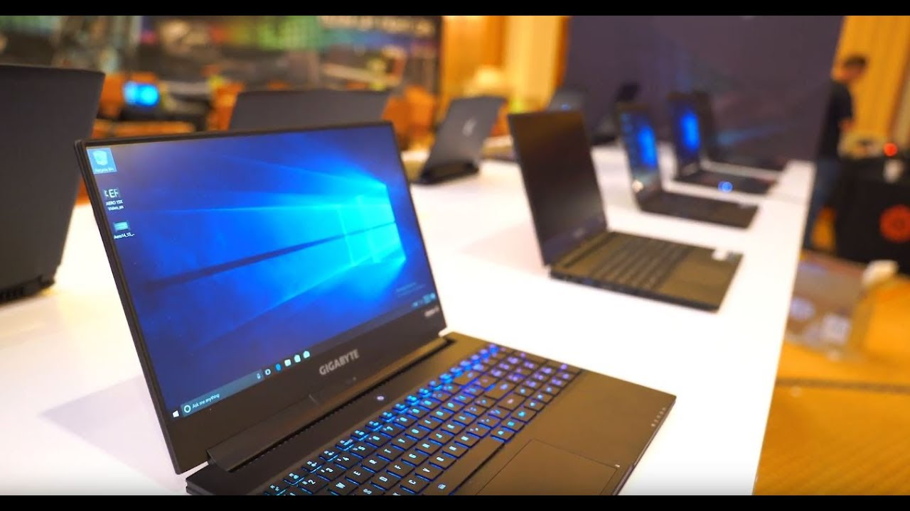 CES 2018: Aorus X9 SLI laptops and Gigabyte Aero 15