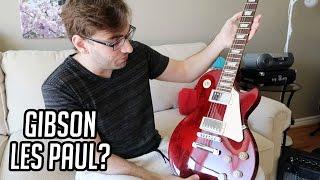 CONSEGUI UMA GIBSON LES PAUL POR ALGUNS DIAS...