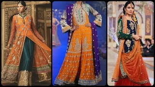 Latest Orange Suits With Colou…