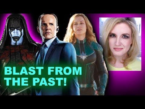 Captain Marvel Movie - Agent Coulson, Ronan, Korath