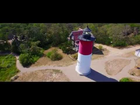 Nauset Light & Cape Cod National Seashore via Drone 4K!