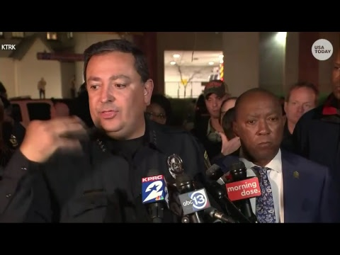 Officials: At least 5 officers shot in Houston