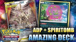 ADP + SPIRITOMB IS A PERFECT MATCH!! (NEW WAY OF PLAYING ADP) - Pokemon TCG