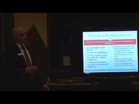 Home Buyers Seminar - Banking/Mortgage in general -- What do Underwriters look for...
