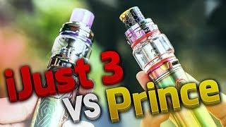 Eleaf iJust 3 vs Smok Prince