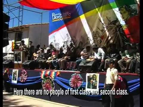 BOLIVIA, AN ELECTED REVOLUTION (English subtitles)