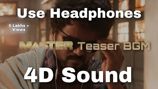 Master Teaser BGM | Master BGM | Background Music | Thalapathy Vijay