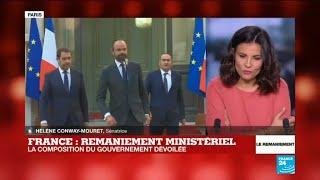 REPLAY - La passation de pouvoir entre Edouard Philippe et Christophe Castaner