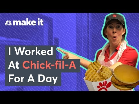 What It's Like To Work At Chick-Fil-A
