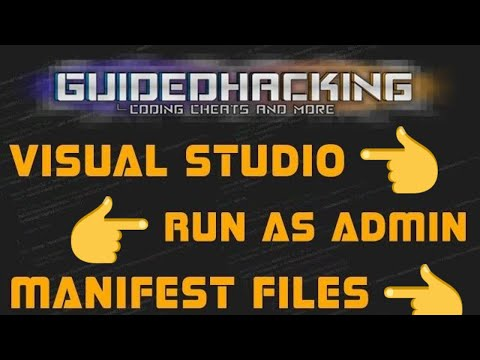 Visual Studio: How to Run as Administrator + Manifest File