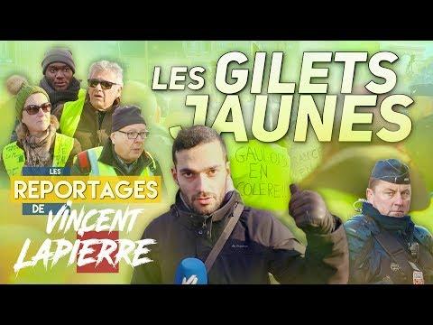 LES GILETS JAUNES – Les Reportages de Vincent Lapierre