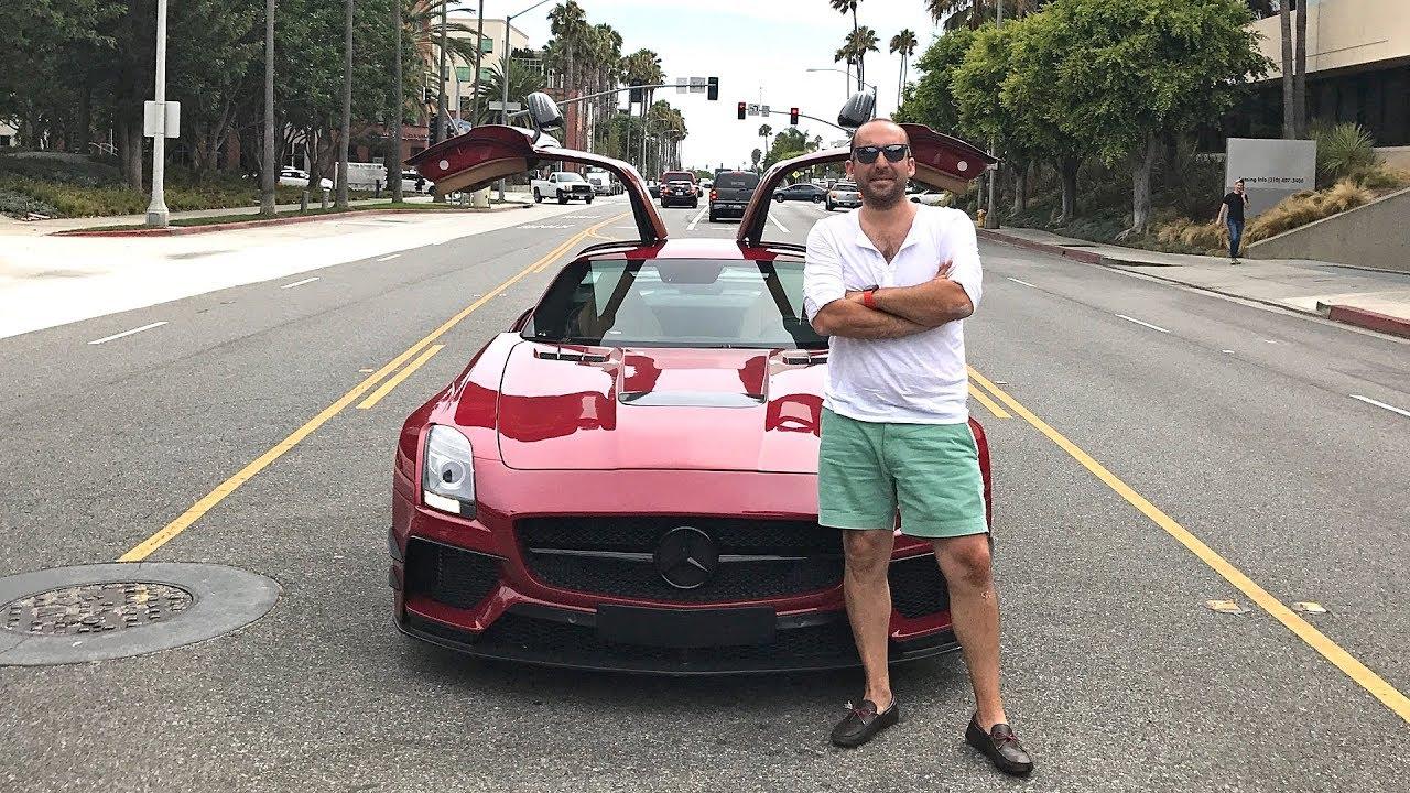 2 Milyon TL'lik Mercedes-Benz SLS AMG ile Gazladık