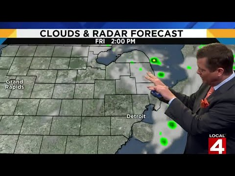 Metro Detroit weather forecast for Aug. 23, 2019 — morning update
