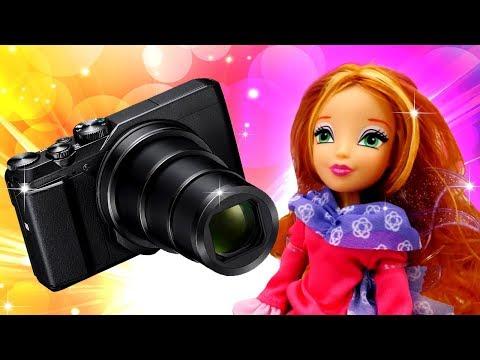 Winx и Winx Club. Куклы Винкс ГЛАМУРНЫЕ лучшие подружки. Видео для девочек. ФОТОСЕССИЯ!