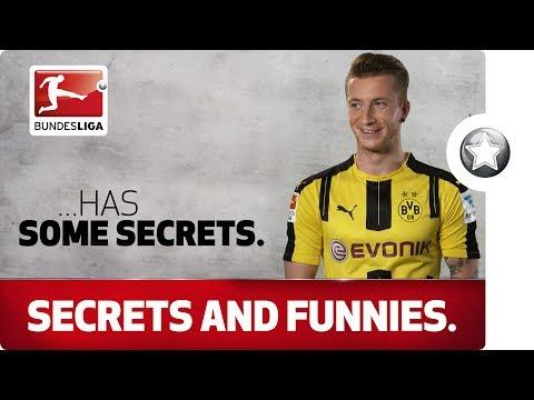 The secrets of your Bundesliga stars - Reus, Robben & Co.
