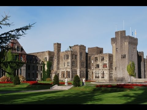 Ashford Castle Luxury Five Star Hotel in Ireland