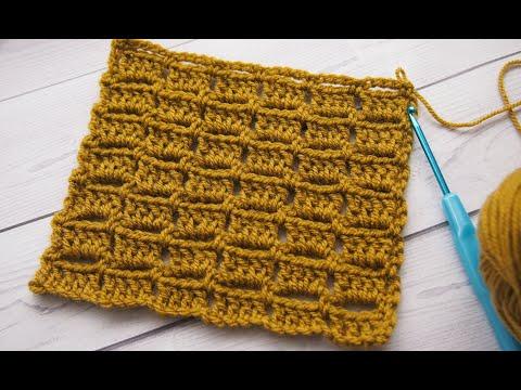 простые узоры крючком узор шоколад узор 4 Simple Patterns Crochet
