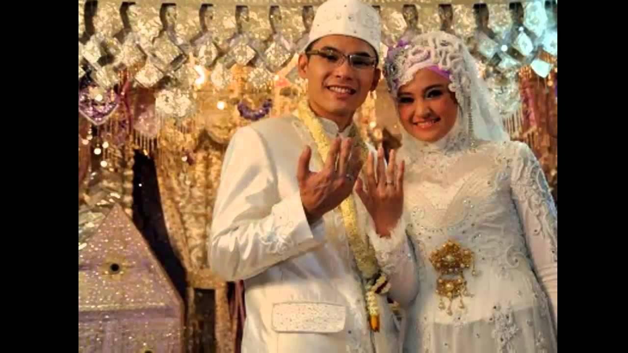 Foto busana pengantin muslim