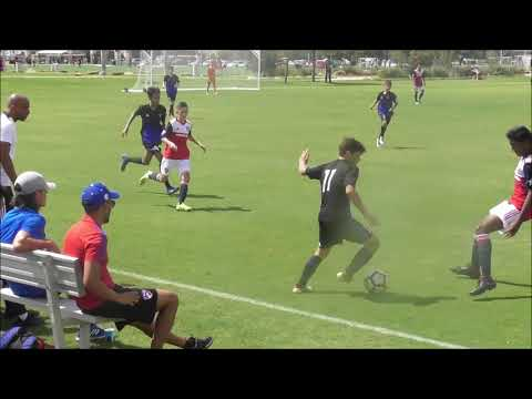 USSDA U14 FC Dallas Academy vs. Solar SC Academy highlights Sep 15 2018