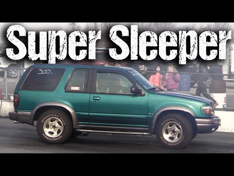Drag Racing an Explorer and Going HOW FAST?