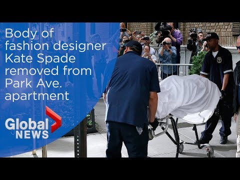Kate Spade's body removed from Manhattan apartment by medical officials
