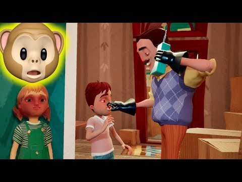 ALL-NEW GAME WITH HIS CHILDREN!! | Hello Neighbor Hide And Seek