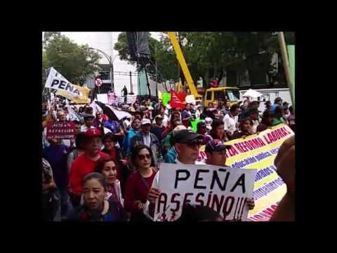 Marcha En Apoyo Al Magisterio Mexicano, Junio 26, 2016 S5