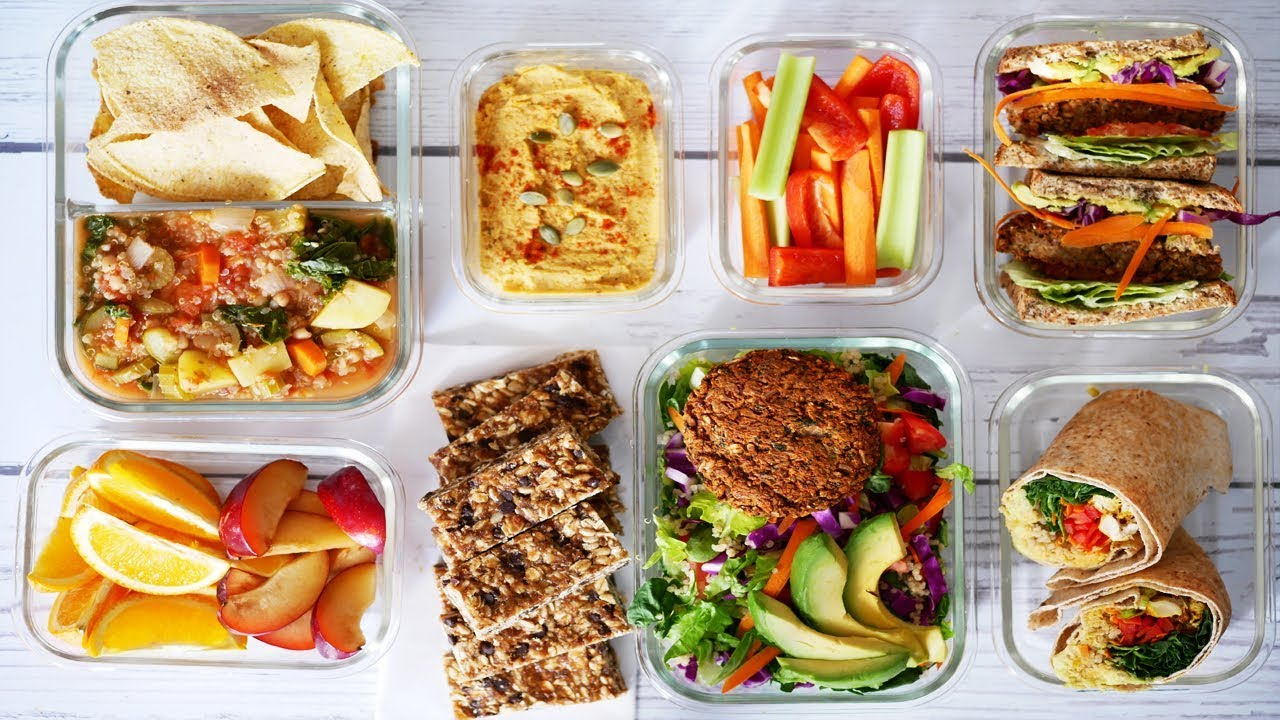 Frühstücksideen Buffet 7 Vegan School Work Lunchbox Ideas Easy Meals Snacks Vegan Meal Prep