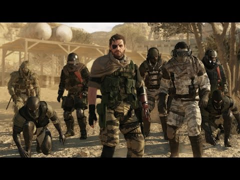 METAL GEAR ONLINE - WORLD PREMIERE TRAILER | KONAMI (ESRB)