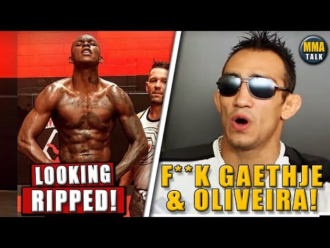 Israel Adesanya IN PHENOMENAL SHAPE Ahead Of UFC 259, Ferguson SLAMS Gaethje \u0026 Oliveira, Edgar KO