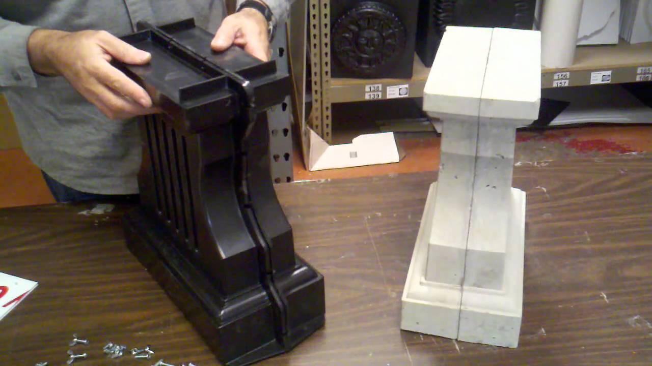 New double bench leg mold  YouTube