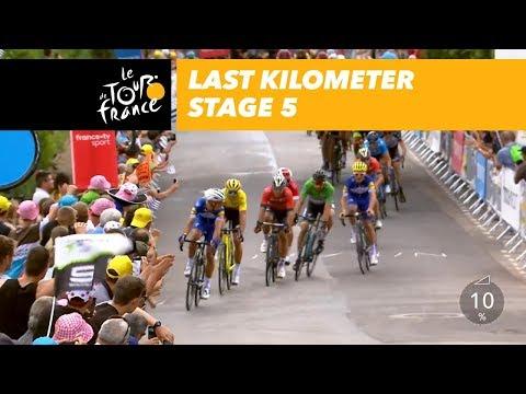 Last kilometer - Stage 5 - Tour de France 2018