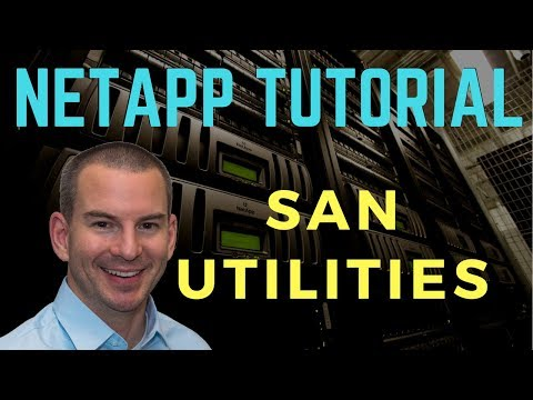 NetApp SAN Utilities Tutorial - MPIO, DSM, SLM and Host Utilities
