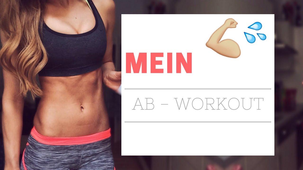 10 Bauchmuskel Übungen / AnikaTeller - YouTube