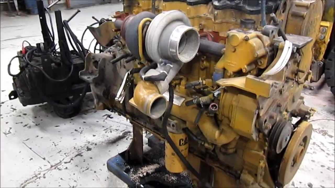 2002 Caterpillar C15 6nz Diesel Engine Youtube