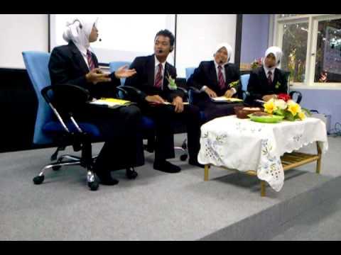 FORUM MINGGU BAHASA ZON BARAT 2012 MRSM SERTING