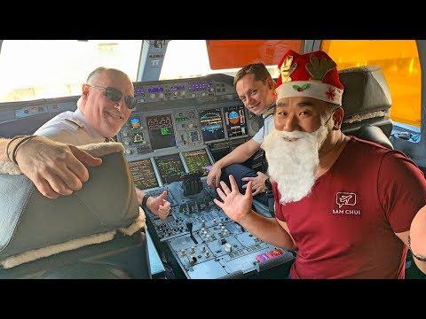 My Christmas Festive Flight on Emirates A380