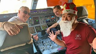 My Christmas Festive Flight on Emirates A380