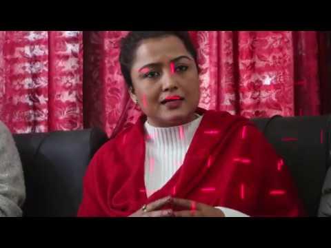 Rekha thapa interview press meet in kapilvastu