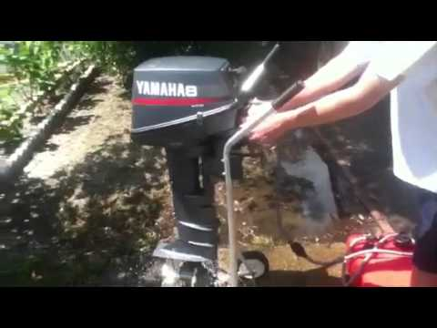 Yamaha 6hp engine sound hd doovi for Winterizing yamaha 300 outboard