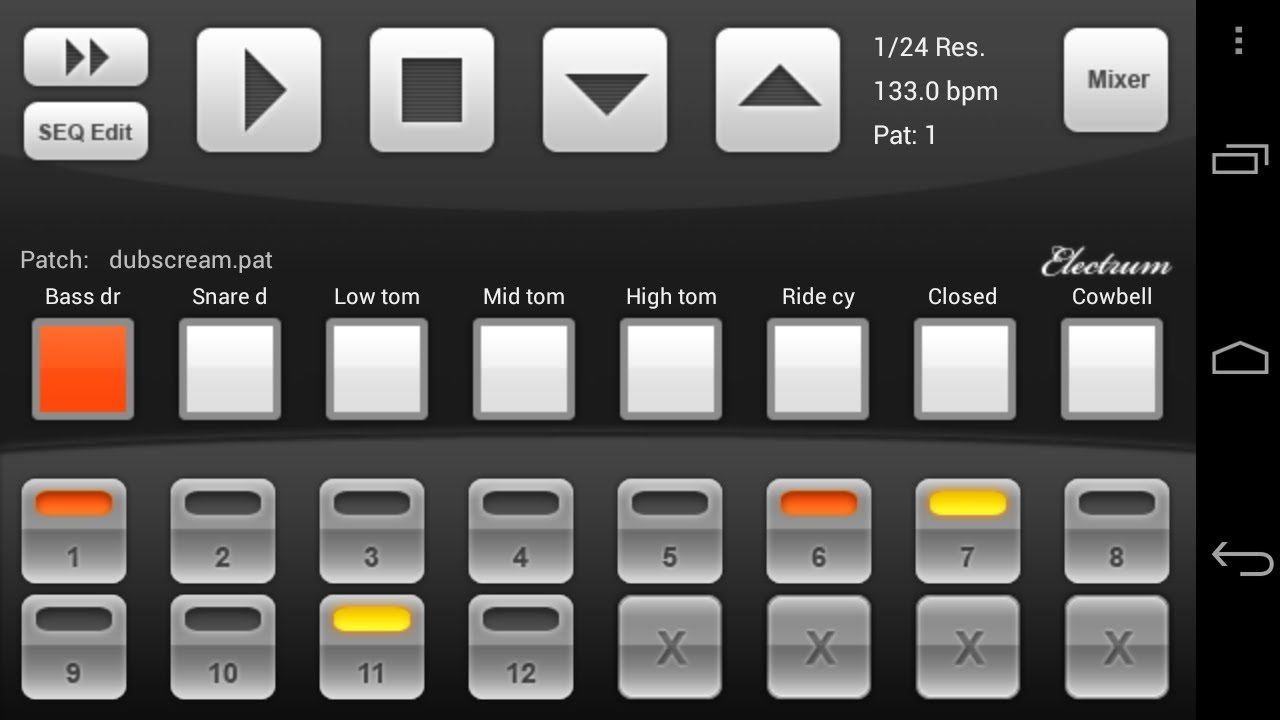 Electrum Drum Machine Sampler Apk Full : electrum drum machine sampler android youtube ~ Vivirlamusica.com Haus und Dekorationen