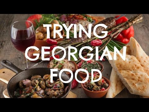 American Tries Georgian Food | Tbilisi, Georgia