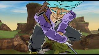 Dragon Ball Dark Sayan Latino Trunks vs Cell