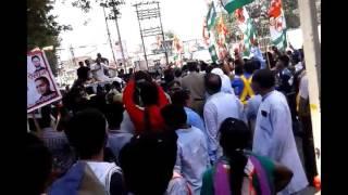 Congress Vice President Rahul Gandhi target PM Modi during Kisan Yatra