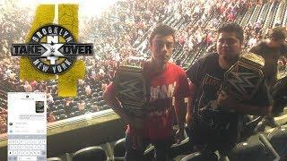 GangGreen David WWE Vlog: NXT Takeover Brooklyn 4 (JOHNNY GARGANO RESPONDED TO ME!)