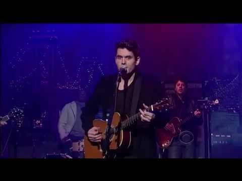 John Mayer - Who Says (Live at Letterman)